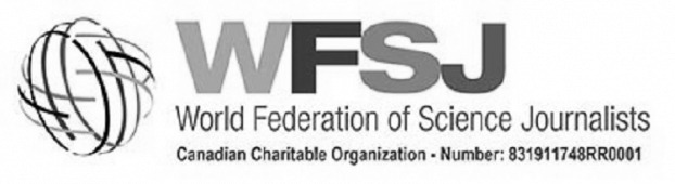 The World Federation of Science Journalists logo